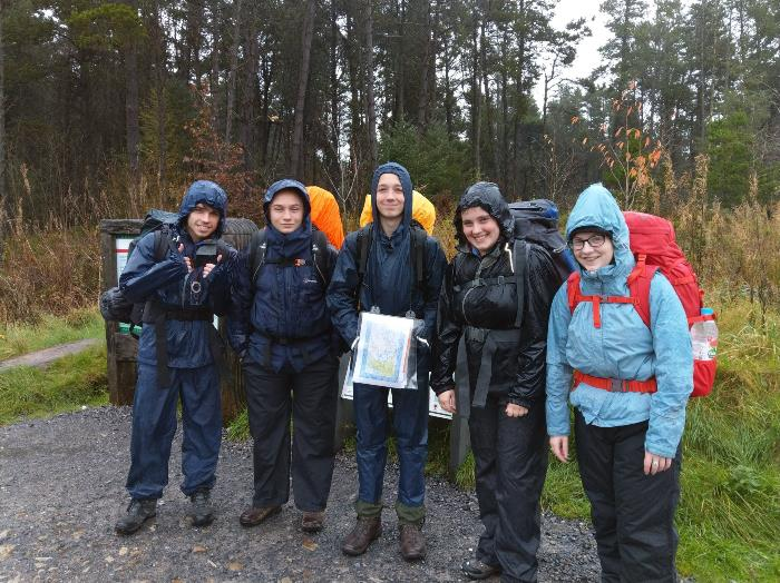 Explorers - Silver and Diamond Hike - October 2019